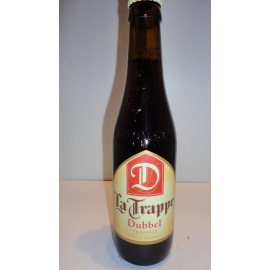La Trappe double 33 cl brune